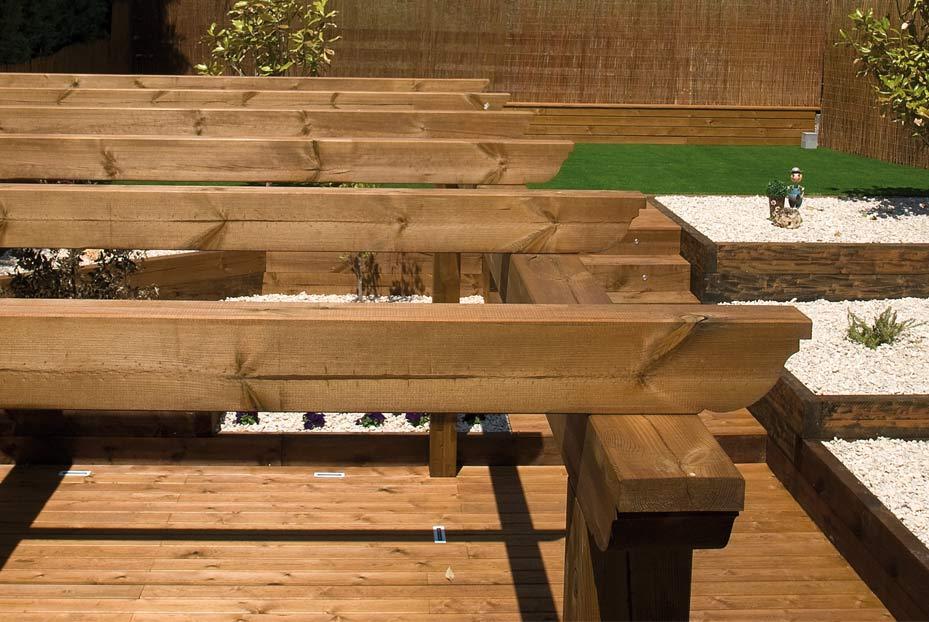 Como construir un porche de madera cool thermochip para - Hacer un porche ...